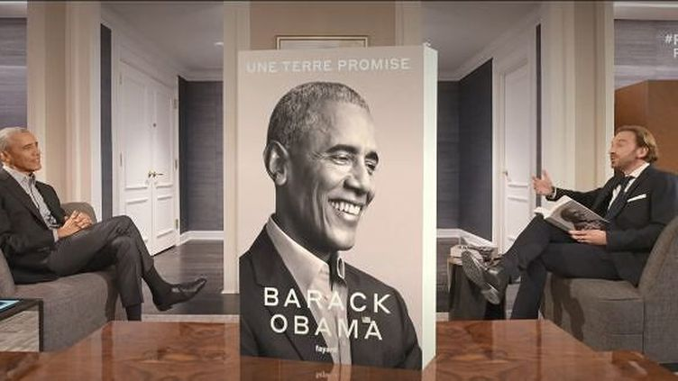 Barack Obama répond aux questions du journaliste François Busnel dans une interview exclusive (FRANCE 2)