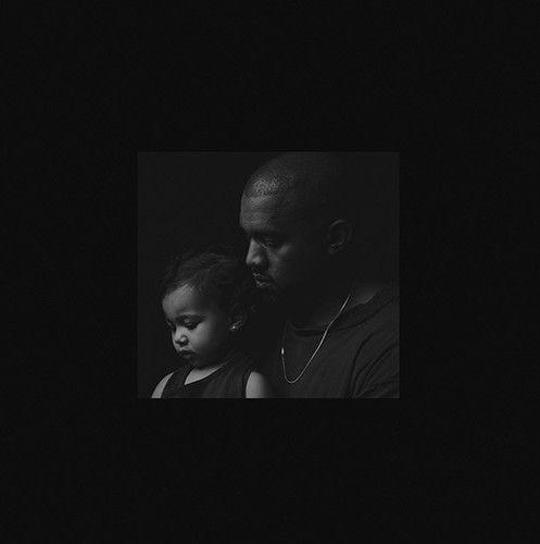 """Kanye West et sa fille North pour la pochette de """"Only One"""".  (Inez and Vinoodh)"""
