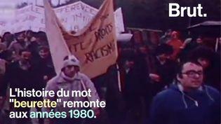 """VIDEO. Des années 1980 à aujourd'hui, retour sur l'histoire du mot """"beurette"""" (BRUT)"""