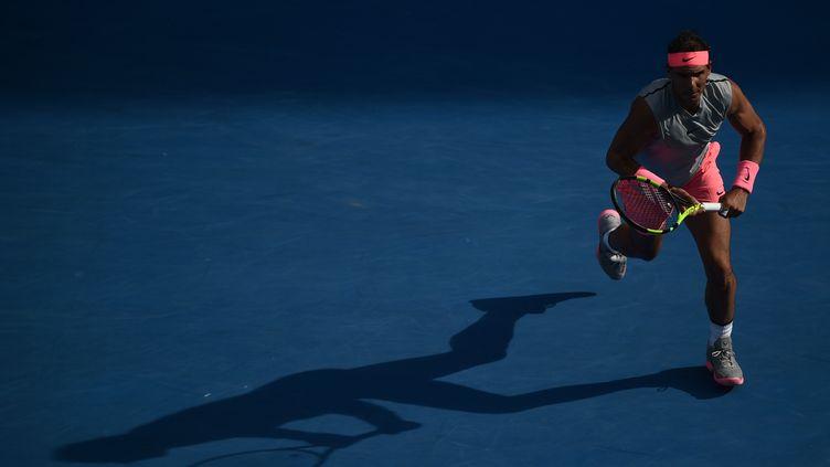 Rafael Nadal entre ombre et lumière (PETER PARKS / AFP)