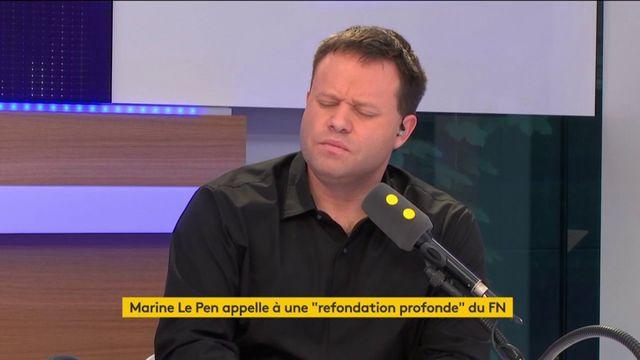 """""""Marine Le Pen a reconnu que le débat était difficile"""" - Julien Sanchez"""