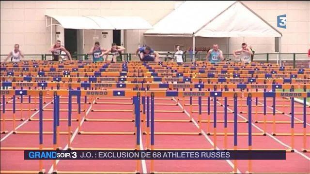 Dopage : les athlètes russes n'iront pas à Rio