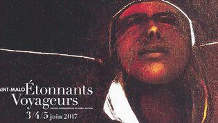 Affiche du Festival Étonnants Voyageurs 2017