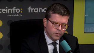 Luc Carvounas (député Nouvelle Gauche), invité de l'interview J-1 lundi 11 septembre 2017. (FRANCEINFO)