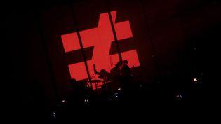 Fauve, lors d'un concert au Bataclan le 4 février 2014  (PHOTOPQR/LE PARISIEN/Frédéric Dugit)