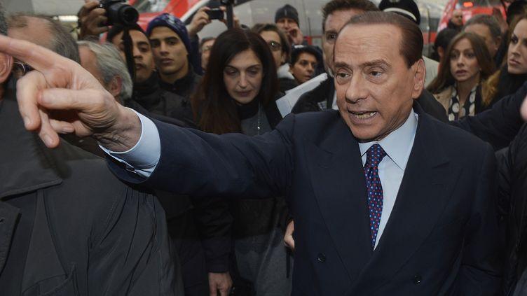 Silvio Berlusconi, à Milan (Italie), le 29 décembre 2012. ( REUTERS)