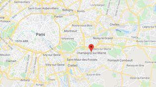 Champigny-sur-Marne (Val-de-Marne). (GOOGLE MAPS)