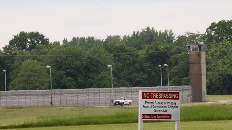 Aperçu du centre pénitencier de Terre-Haute (Indiana) oùKeith Nelson, 45 ans, a reçu une injection létale, le 28 août 2020. (JOHN SOMMERS II / GETTY IMAGES NORTH AMERICA / AFP)
