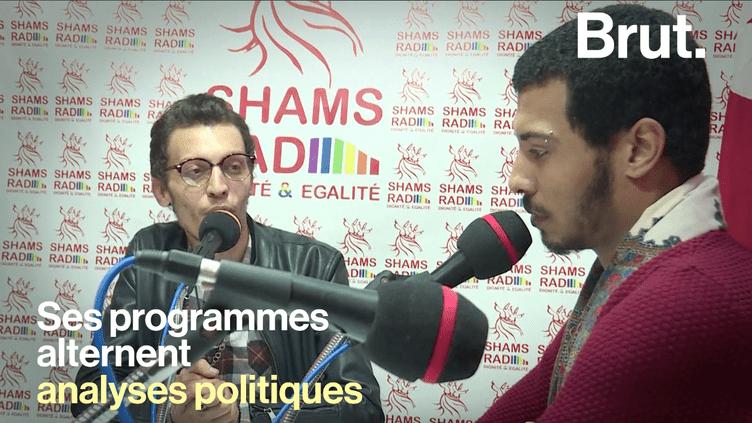 """Shams rad"", la première radio LGBT du monde arabe (BRUT)"