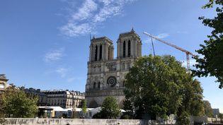 La cathédrale Notre-Dame de Paris, le 9 septembre 2020. (NOÉMIE BONNIN / FRANCE-INFO)
