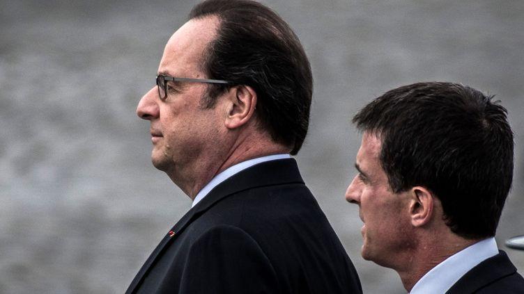 (Le Président a revu à la baisse son plan d'économie, ramené à 46 milliards d'euros © MaxPPP)
