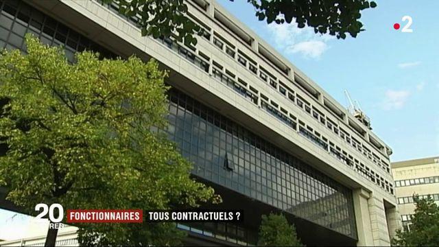 Fonctionnaires : bientôt tous contractuels ?