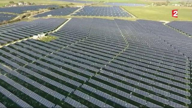 Énergie : l'Italie championne du photovoltaïqu