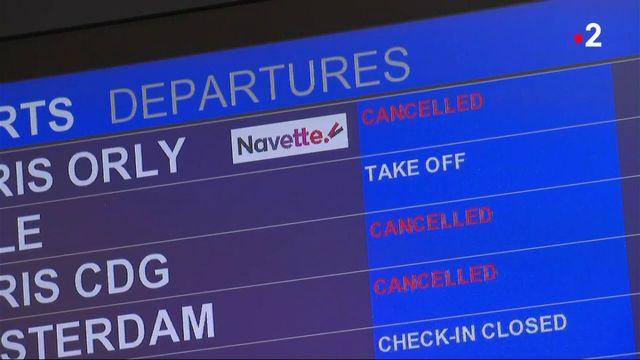 Grève à Air France : de nombreux vols annulés