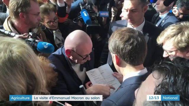 Salon de l'agriculture : journée marathon pour Emmanuel Macron