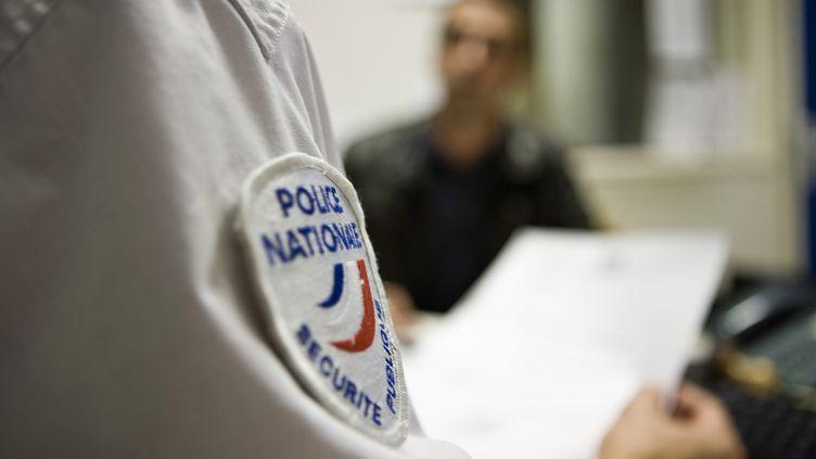 Un agent de la police nationale. (Photo d'illustration) (MAXPPP)