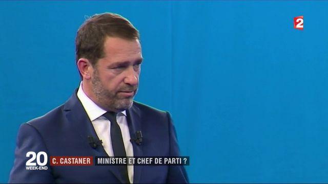 Christophe Castaner : ministre et chef de parti ?