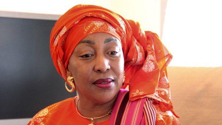 Moinaecha Djalali, candidate à l'élection présidentielle des Comores. (AFP/ Ibrahim Youssouf)