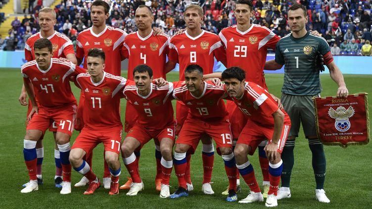 La Russie ouvre ce Mondial 2018 face à l'Arabie Saoudite. (ALEXANDER NEMENOV / AFP)