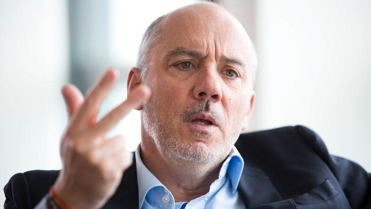 Stéphane Richard, le PDG d'Orange. (LP/ JEAN NICHOLAS GUILLO / MAXPPP)