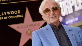 Charles Aznavoura obtenu son étoile sur Hollywood Boulevard le 24 août2017 à Hollywood, en Californie. (AXELLE/BAUER-GRIFFIN / FILMMAGIC)