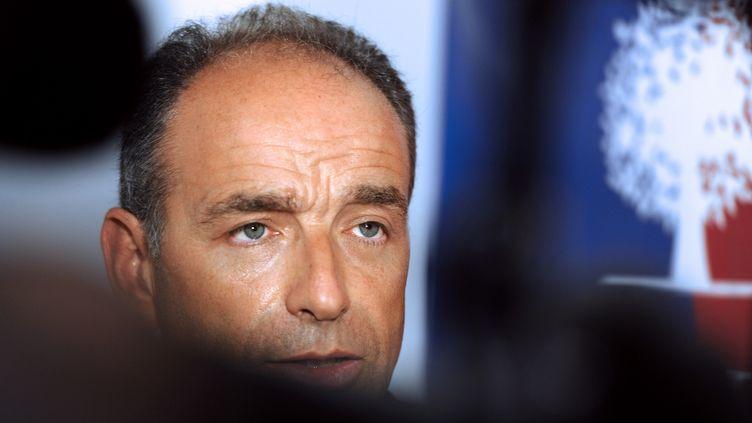 Jean-Francois Copé à Tournefeuille, près de Toulouse (Haute-Garonne), le 18 septembre 2013 (ERIC CABANIS / AFP)