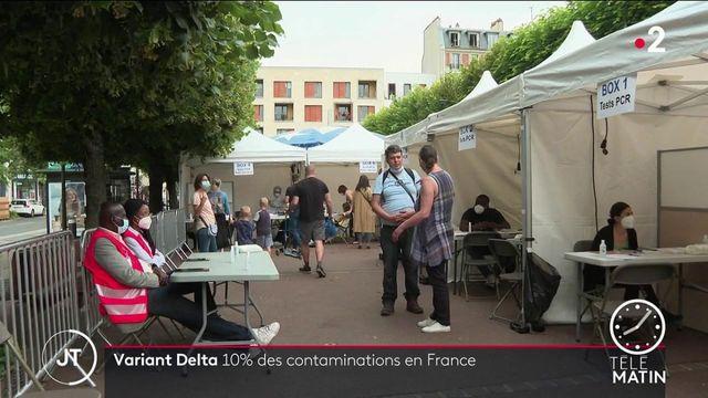 Covid-19 : le variant Delta inquiète en France