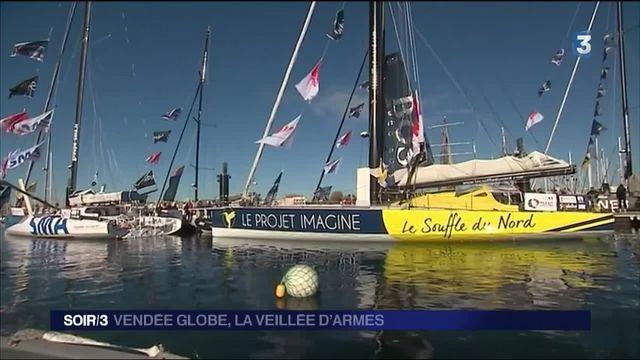 Vendée Globe : l'heure du grand départ