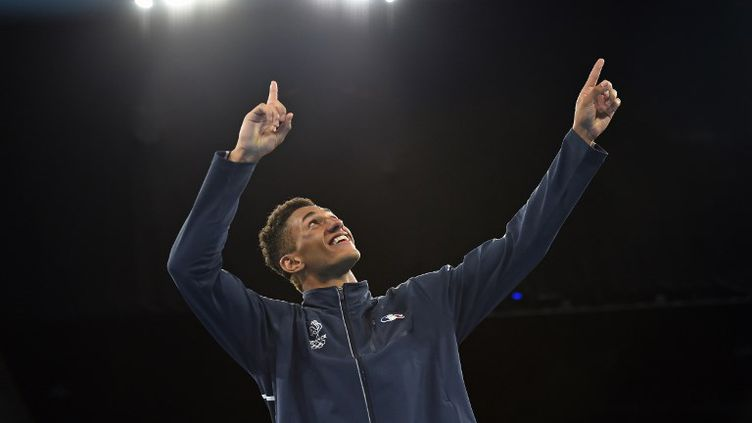 Le boxeur français Tony Yoka (YURI CORTEZ / AFP)