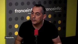 Rocco Contento du syndicatUnité SGP Police, le 24 juillet 2018. (FRANCEINFO)