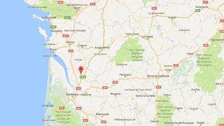 Un automobiliste a été tué dans une collision avec un train à un passage à niveau, àBussac-Forêt (Charente-Maritime), vendredi 3 mars 2017. (FRANCEINFO)