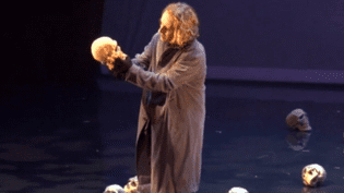 """Hamlet"" avec William Mesguich  (France 3 - Culturebox)"