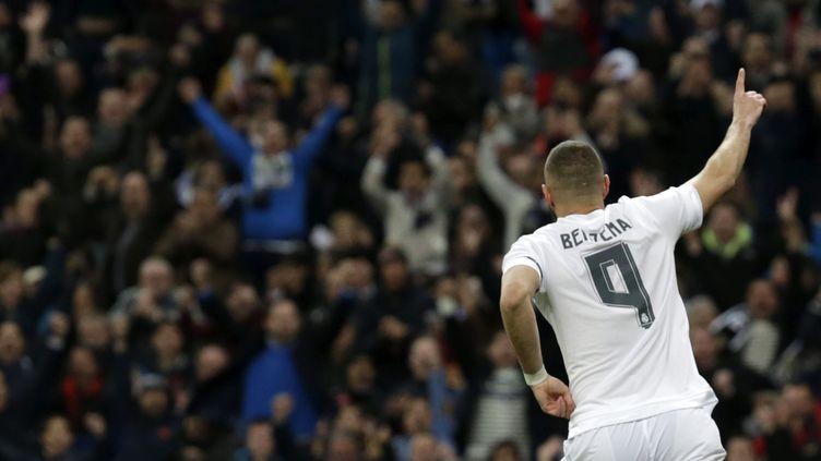 Karim Benzema décisif avec le Real Madrid (JAVIER LIZON / EFE)