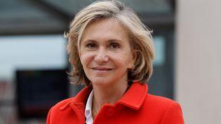 Valérie Pécresse, présidente de la région Ile-de-France, le 29 avril 2021. (LUDOVIC MARIN / AFP)