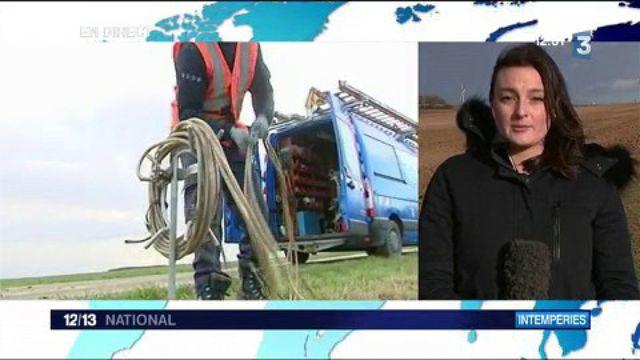 Intempéries : la Picardie et la Normandie fortement touchées par les coupures d'électricité