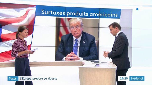 Taxes américaines : la riposte s'organise chez les Européens