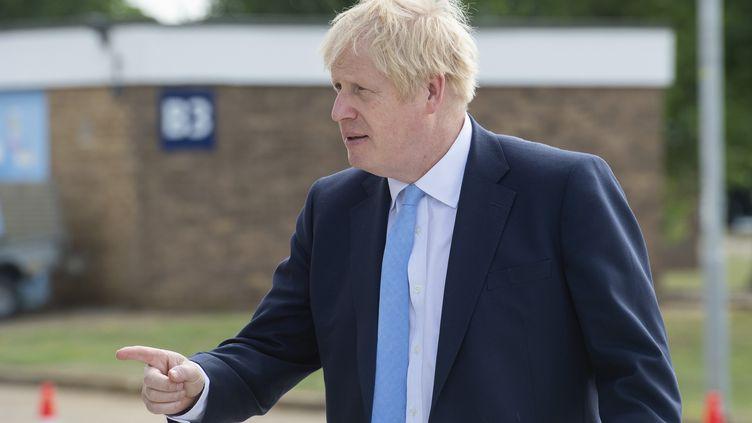 Le Premier ministre britannique Boris Johnson à Fulham (Royaume-Uni), le 6 février 2014. (JULIAN SIMMONDS / AFP)