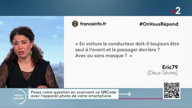 #OnVousRépond : port du masque en voiture et Français expatriés au Canada