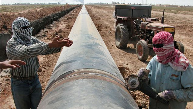 (Un financement souterrain existerait toujours pour le pétrole de Daech © SIPA)