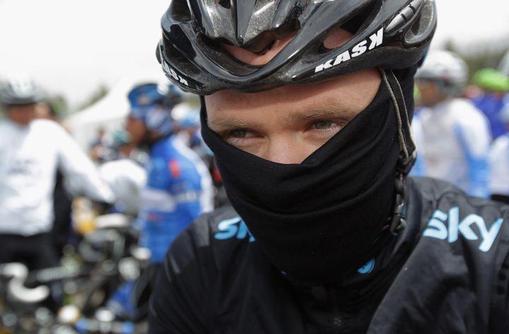 Christophe Froome lors du Tour de Californie (Etats-Unis), le 15 mai 2011. (DOUG PENSINGER / GETTY IMAGES NORTH AMERICA)