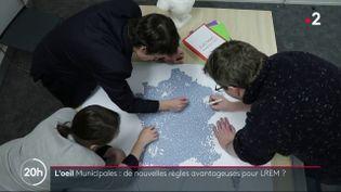 Municipales : de nouvelles règles avantageuses pour LREM (FRANCE 2)