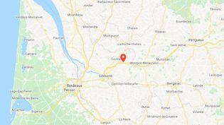 Saint-Médard-de-Guizières, en Gironde. (GOOGLE MAPS)
