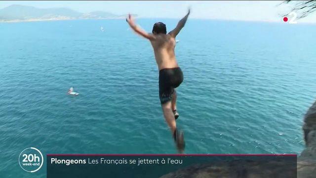 Plongeons : de plus en plus de jeunes se jettent à l'eau malgré le danger