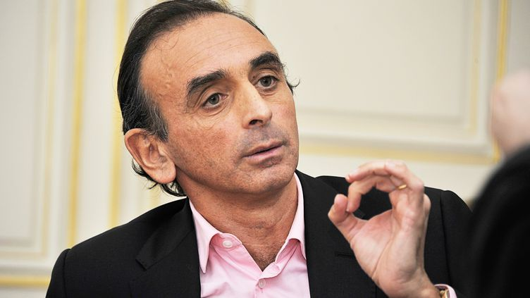 Le polémiste Eric Zemmour à Lyon (Rhône), le 21 novembre 2014. (MAXPPP)