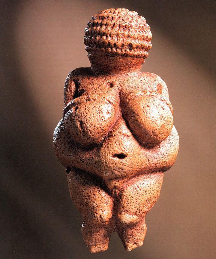 La Vénus de Willendorf ( Museum d'histoire naturelle - NHM - de Vienne)  (MG/EFE/Newscom/MaxPPP)
