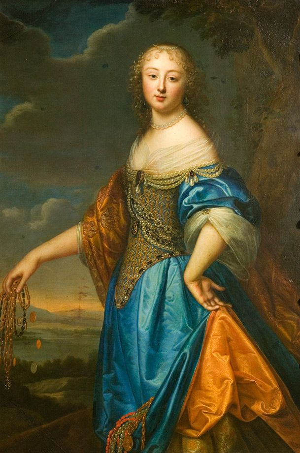 Portrait de Jeanne de Marigny attribué à Charles et Henri Beaubrun  (Victoria and Albert Museum, London)