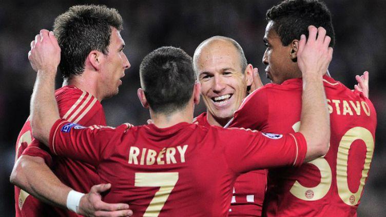 La joie du Bayern Munich autour de Robben