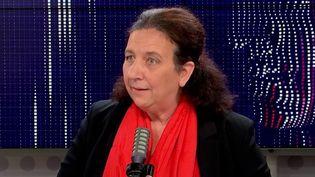 Frédérique Vidal, ministre de l'Enseignement supérieur, était l'invitée de franceinfo le 15 octobre 2020 (FRANCEINFO / RADIOFRANCE)