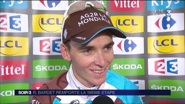 Tour de France : Bardet au sommet