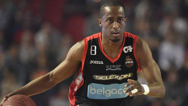 Rodrigue Beaubois sous le maillot de Charleroi (JOHN THYS / AFP)